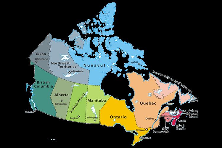 جغرافیای کانادا