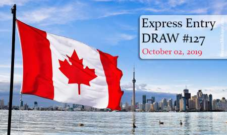 پذیرش شماره 127 اکسپرس اینتری کانادا